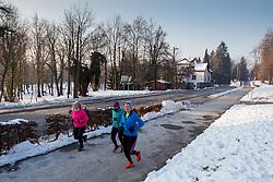 Priprave na Ljubljanski maraton, on January 28, 2017 in  Ljubljana, Slovenia. Photo by Urban Urbanc / Sportida