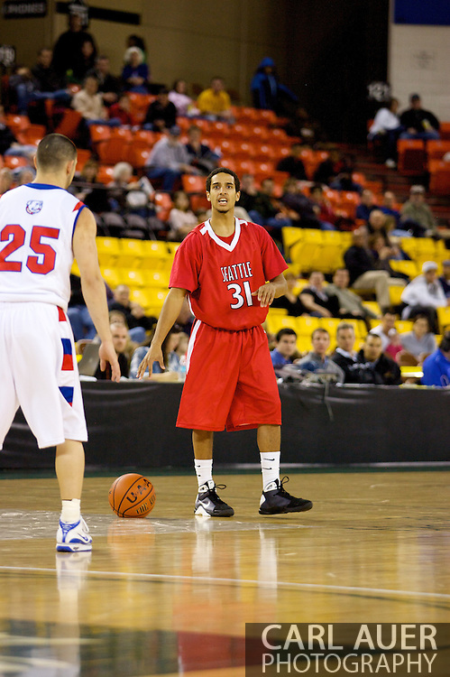 November 27, 2008: Seattle University guard Drew Harris (31) in the opening round of the 2008 Great Alaska Shootout at the Sullivan Arena