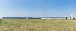 View of former airport at Tempelhof in Berlin Germany