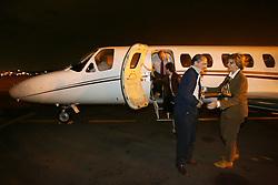 O candidato a presidência da república Geraldo Alckmin desembarca junto com a  candidata ao governo do Estado do RS, Yeda Crusius, no aeroporto internacional Salgado Filho, em Porto Alegre. FOTO: JEFFERSON BERNARDES/PREVIEW.COM