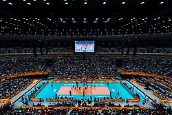 20-10-2018 JPN: Final World Championship Volleyball Women day 21, Yokohama<br /> Serbia - Italy 3-2 / Yokohama Arena
