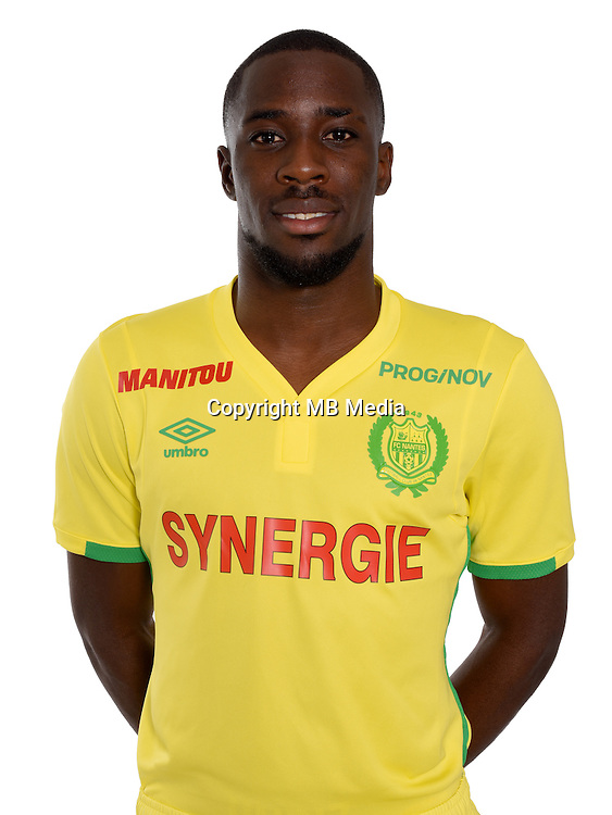 Jules Iloki during photocall of Fc Nantes for new season of Ligue 1 on September 14th 2016<br /> Photo : Fcna / Icon Sport