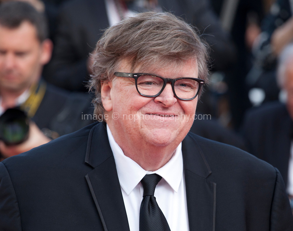 Director Michael Moore at the closing ceremony and The Specials film gala screening at the 72nd Cannes Film Festival Saturday 25th May 2019, Cannes, France. Photo credit: Doreen Kennedy
