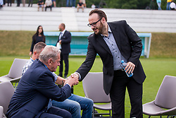 Matej Orazem and Milan Mandaric during official draw for Slovenian first football league for season 2018-2019, on June 21, 2018 in Nacionalni nogometni center Brdo pri Kranju, Kranj, Slovenia. Photo by Ziga Zupan / Sportida