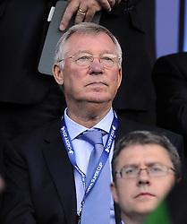 Sir Alex Ferguson  - Photo mandatory by-line: Joe Meredith/JMP - Mobile: 07966 386802 12/08/2014 - SPORT - FOOTBALL - Cardiff - Cardiff City Stadium - Real Madrid v Sevilla - UEFA Super Cup