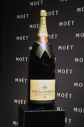CHAMPAGNE BOTTLE at the Moet & Chandon Tribute to Cinema party held at the Big Sky Studios, Brewery Road, London N7 on 24th March 2009.