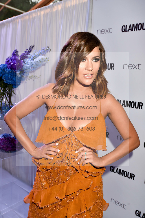 Caroline Flack at the Glamour Women of The Year Awards 2017 in association with Next held in Berkeley Square Gardens, London England. 6 June 2017.