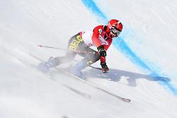 SANA Eleonor B2 BEL Guide: SANA Chloe competing in the Para Alpine Skiing Downhill at the PyeongChang2018 Winter Paralympic Games, South Korea