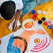 TALLER DE PINTURA DICTADO POR LA ARTISTA PANAMEÑA OLGA SINCLAIR / PANAMA 2012