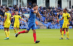 Steven Taylor of Peterborough United rues a missed chance to score - Mandatory by-line: Joe Dent/JMP - 30/09/2017 - FOOTBALL - ABAX Stadium - Peterborough, England - Peterborough United v Oxford United - Sky Bet League One
