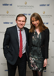 George Eustice MP with his Girlfriend Katy attend the Opening of the Westminster InterContinental Hotel, Thursday February 28, Photo By Andrew Parsons / i-ImagesJon