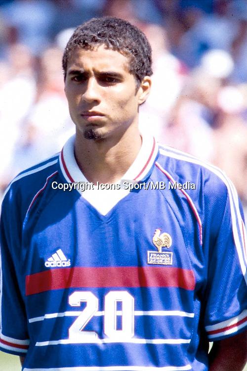 David Trezeguet - 24.06.1998 - France / Danemark - Coupe du Monde 1998 -<br /> Photo : Aldo Liverani / Icon Sport