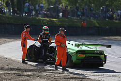 May 6, 2018 - Brands Hatch, Grande Bretagne - 19 GRT GRASSER RACING TEAM (AUT) LAMBORGHINI HURACAN GT3 EZEQUIEL PEREZ COMPANC (ARG) ANDREA CALDARELLI  (Credit Image: © Panoramic via ZUMA Press)