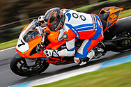 Jamie Stauffer in Q1 during round 6 of the Australian Superbike Championship on October 05, 2019 at Phillip Island Circuit, Victoria. (Image Dave Hewison/ Speed Media)