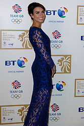Christine Bleakley during the BT Olympic Ball, held at the Grosvenor Hotel, London, UK, November 30, 2012. Photo By Anthony Upton / i-Images.