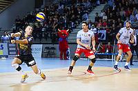 Guillermo Hernan - 04.12.2014 - Ajaccio / Izmir - 1/8finale Cev Cup<br />Photo : Jean Pierre Belzit / Icon Sport