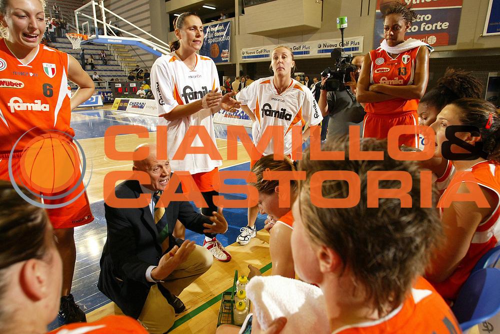 DESCRIZIONE : Taranto Campionato Italiano Donne A1 2005-2006 Coconuda Maddaloni-Famila Schio <br /> GIOCATORE : Fossati timeout<br /> SQUADRA : Famila Schio<br /> EVENTO : Campionato Italiano Donne A1 2005-2006<br /> GARA : Coconuda Maddaloni Famila Schio<br /> DATA : 01/10/2005 <br /> CATEGORIA :<br /> SPORT : Pallacanestro <br /> AUTORE : Agenzia Ciamillo-Castoria