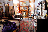 Bedroom in Craigdorroch Castle, Victoria, BC