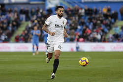 November 10, 2018 - Getafe, Madrid, Spain - Valencia CF's Ezequiel Garay during La Liga match between Getafe CF and Valencia CF at Coliseum Alfonso Perez in Getafe, Spain. November 10, 2018. (Credit Image: © A. Ware/NurPhoto via ZUMA Press)