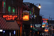 Beale Street, Memphis, Tennessee © Karen Pulfer Focht-ALL RIGHTS RESERVED-NOT FOR USE WITHOUT WRITTEN PERMISSION