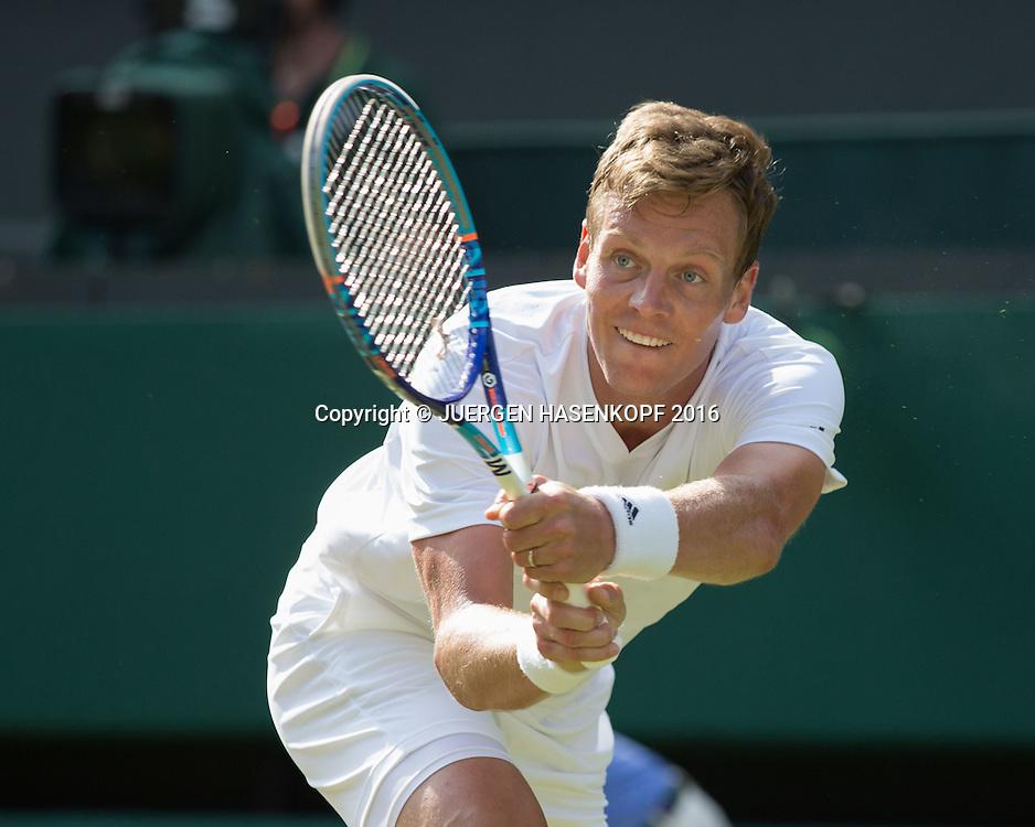 TOMAS BERDYCH (CZE)<br /> <br /> Tennis - Wimbledon 2016 - Grand Slam ITF / ATP / WTA -  AELTC - London -  - Great Britain  - 3 July 2016.