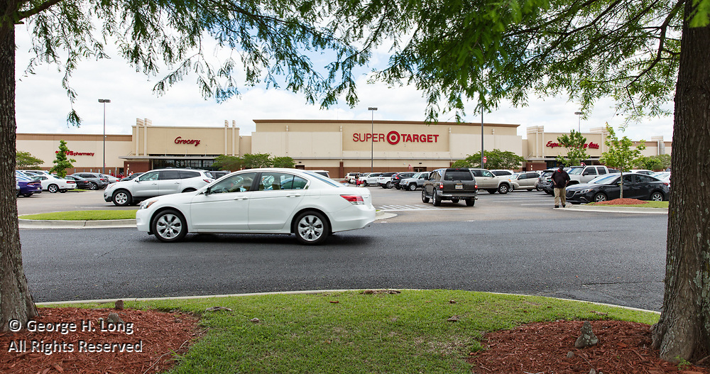 Super Target store in Siegen Plaza Shopping Center in Baton Rouge, Louisiana for HFF