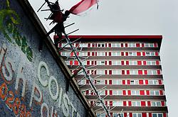 Divis Flats, Divis Street, Falls Road, Belfast<br /> <br /> (c) Andrew Wilson | Edinburgh Elite media
