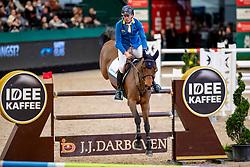 AHLMANN Christian (GER), Atomic Z<br /> Leipzig - Partner Pferd 2019<br /> IDEE Kaffe Preis<br /> CSI5*<br /> 18. Januar 2019<br /> © www.sportfotos-lafrentz.de/Stefan Lafrentz