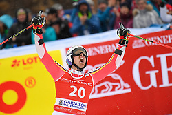 26.10.2019, Kandahar, Garmisch, GER, FIS Weltcup Ski Alpin, Riesenslalom, Herren, 2. Lauf, im Bild Stefan Luitz (GER) // Stefan Luitz of Germany reacts after his 2nd run of men's Giant Slalom of FIS ski alpine world cup at the Kandahar in Garmisch, Germany on 2019/10/26. EXPA Pictures © 2020, PhotoCredit: EXPA/ Erich Spiess