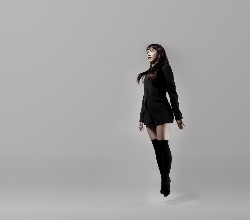 Studio shoot, black