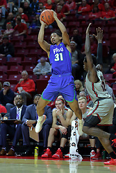 NORMAL, IL - November 06:  Dinero Mercurius during a college basketball game between the ISU Redbirds  and the Florida Gulf Coast Eagles on November 06 2018 at Redbird Arena in Normal, IL. (Photo by Alan Look)