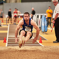 Alain Doucet, Moncton, 2019 U SPORTS Track and Field Championships on Thu Mar 07 at James Daly Fieldhouse. Credit: Arthur Ward/Arthur Images