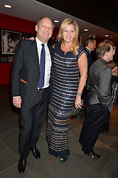 HAMISH BULLOUGH and BELLE ROBINSON of fashion label Jigsaw at A Night of Motown in aid of Save The Children UK held at The Roundhouse, Chalk Farm Road, London on 3rd March 2016.