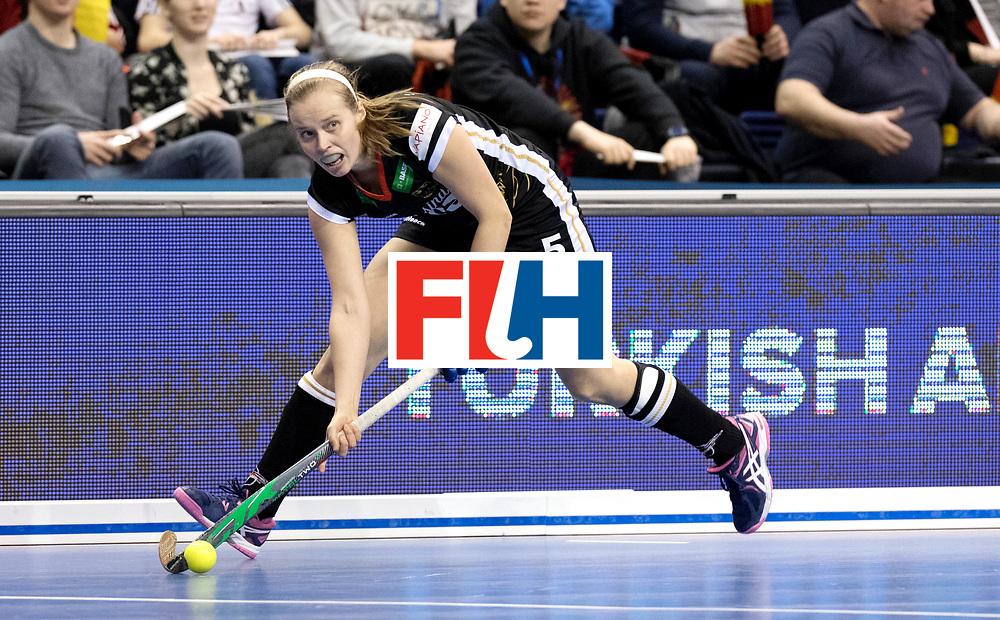 BERLIN - Indoor Hockey World Cup<br /> Quarterfinal 3: Germany - Poland<br /> foto: Viktoria Huse.<br /> WORLDSPORTPICS COPYRIGHT FRANK UIJLENBROEK