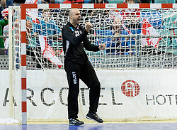 02.11.2016, Arena Nova, Wiener Neustadt, AUT, EHF, Handball EM Qualifikation, Österreich vs Finnland, Gruppe 3, im Bild Goran Aleksic (AUT)// during the EHF Handball European Championship 2018, Group 3, Qualifier Match between Austria and Finland at the Arena Nova, Wiener Neustadt, Austria on 2016/11/02. EXPA Pictures © 2016, PhotoCredit: EXPA/ Sebastian Pucher