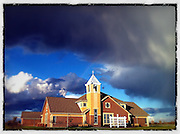 Prince of Peace Church in Bellevue. Taken with iPhone 4 and edited with Snapseed app.. (Sam Lucero photo)