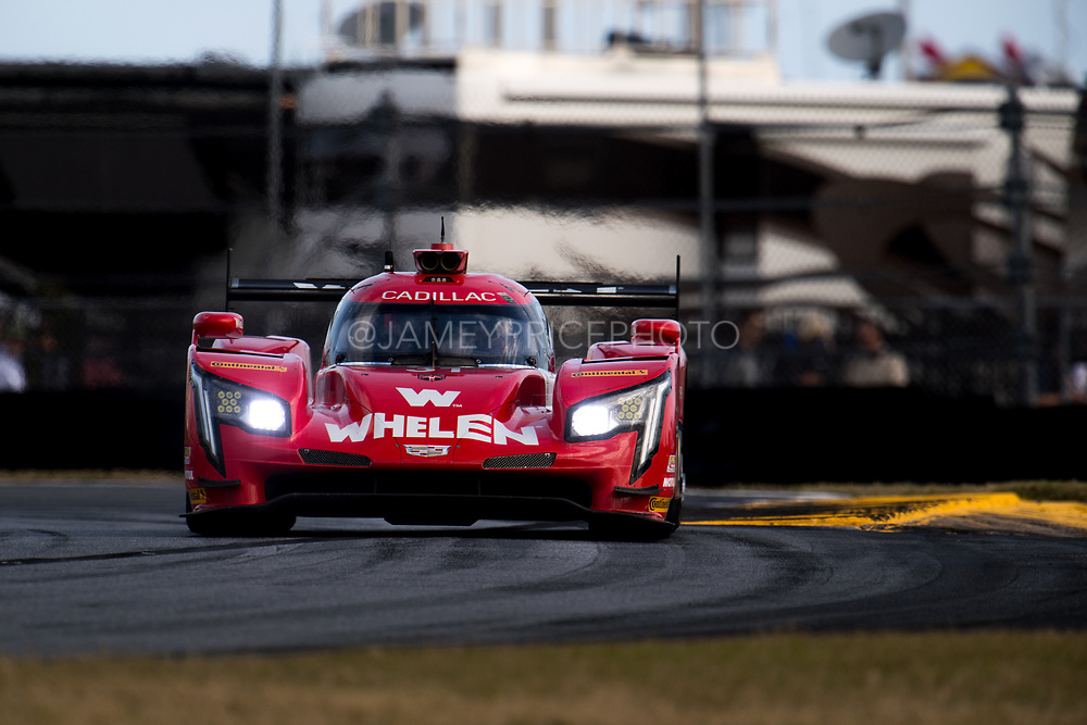 January 24-28, 2018. IMSA Weathertech Series ROLEX Daytona 24. 31 Whelen Engineering Racing, Cadillac DPi, Stuart Middleton, Eric Curran, Felipe Nasr Mike Conway