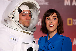 November 8, 2016 - Roma, Italy - French actress CLEMENTINE POIDATZ with 'Astronaut' during premiere of 'Mars' the largest production ever made by National Geographic. (Credit Image: © Matteo Nardone/Pacific Press via ZUMA Wire)
