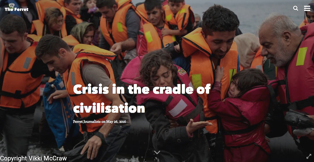Vikki McCraw Photographer | TheFerret - Crisis In The Cradle Of Civilisation
