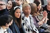 Pharrell Williams and his girlfriend Paris Fashion