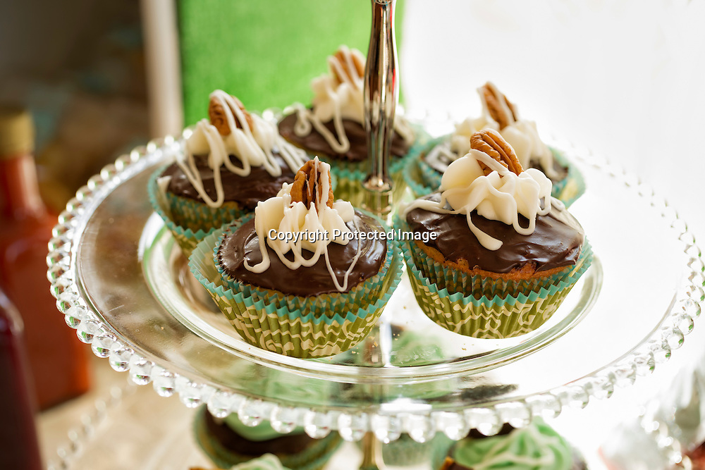 Cupcakes at a party