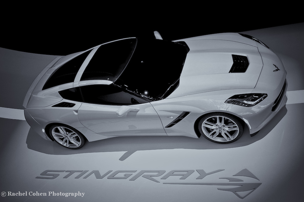 &quot;2014 Chevy Corvette&quot; - B&amp;W<br />