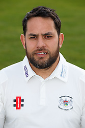 of Gloucestershire Cricket poses for a headshot in the County Championship kit - Mandatory byline: Rogan Thomson/JMP - 04/04/2016 - CRICKET - Bristol County Ground - Bristol, England - Gloucestershire County Cricket Club Media Day.