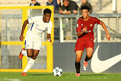 October 31, 2017 - Rome, Italy - Callum Hudson-Odoi of Chelsea  during the UEFA Youth League match between AS Roma and Chelsea FC at Stadio Tre Fontane on October 31, 2017 in Rome, Italy. (Credit Image: © Matteo Ciambelli/NurPhoto via ZUMA Press)