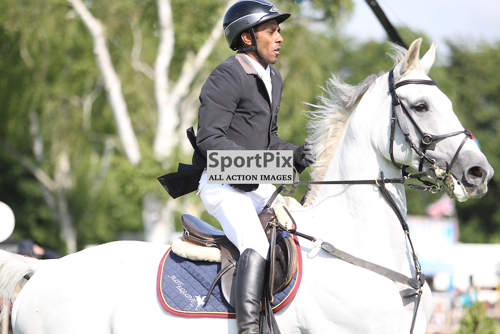 Darren Wise riding Calaero, British Jumping Derby Meeting, Hickstead © Phil Duncan | StockPix.eu