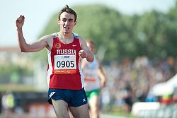 KOBESOV Chermen, RUS, 400m, T37, 2013 IPC Athletics World Championships, Lyon, France