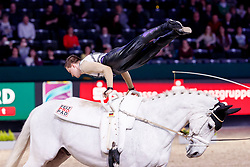 Kaiser, Daniel (GER) Sir Bernhard von der Wintermühle<br /> Leipzig - Partner Pferd 2017<br /> © Stefan Lafrentz