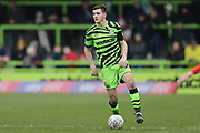 Forest Green Rovers Liam Kitching(20) during the EFL Sky Bet League 2 match between Forest Green Rovers and Walsall at the New Lawn, Forest Green, United Kingdom on 8 February 2020.