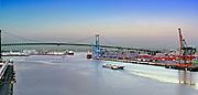 Long Beach, CA, Harbor, Gantry Crane, Port of Los Angeles, Terminal Island,