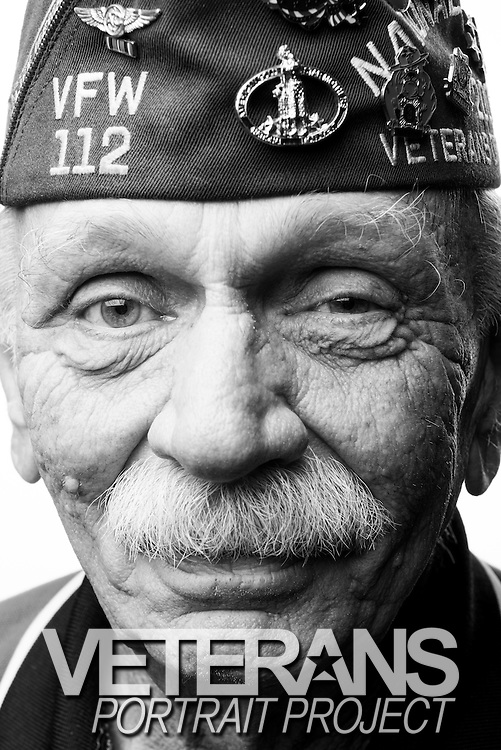Jim Maske<br /> Navy<br /> Petty Office 2nd Class<br /> Aircrew<br /> 1962-1966<br /> Vietnam<br /> <br /> Veterans Portrait Project<br /> Louisville, KY<br /> VFW Convention <br /> (Photos by Stacy L. Pearsall)